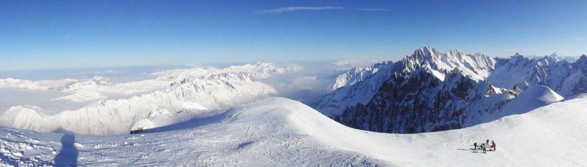 Шамони Монблан. Французские Альпы.
