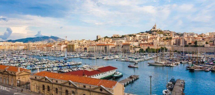 Марсель (Marseille) — через порт мир заходит сюда каждый день