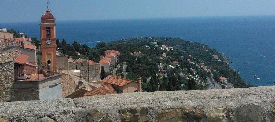 Рокебрю́н-Кап-Марте́н (Roquebrune-Cap-Martin), виды, виды, и еще раз виды.
