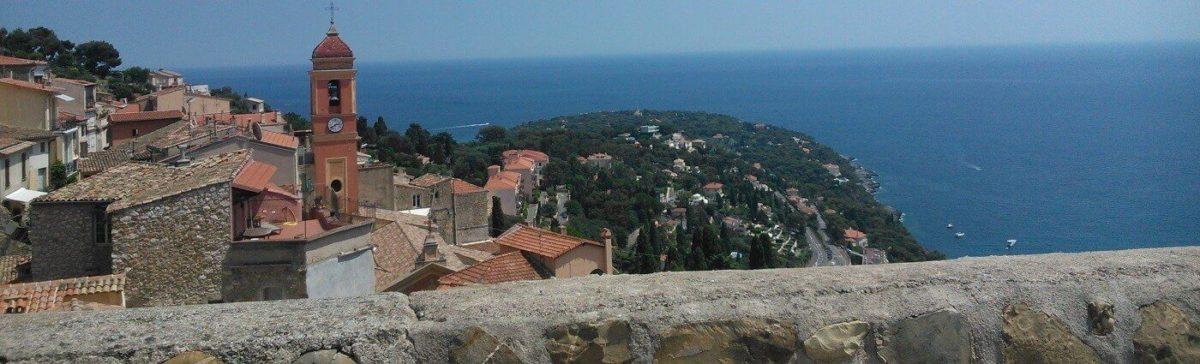 Рокебрюн (Roquebrune-Cap-Martin), виды, виды, и еще раз виды.