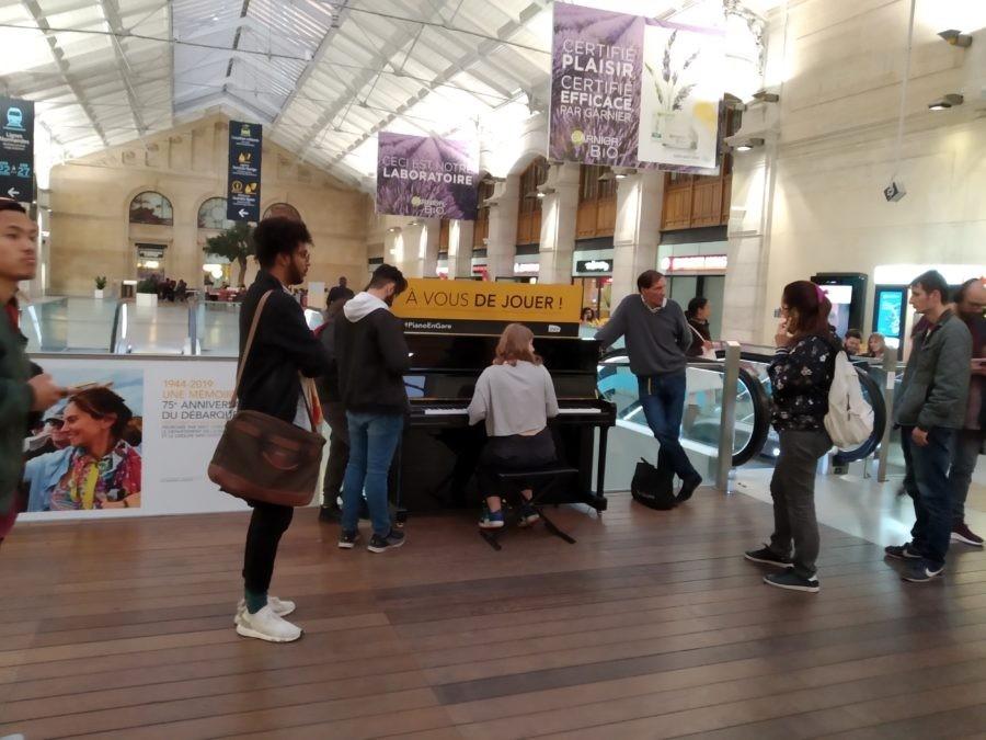 Вокзал Сен-Лазар (Gare Saint-Lazare) в Париже