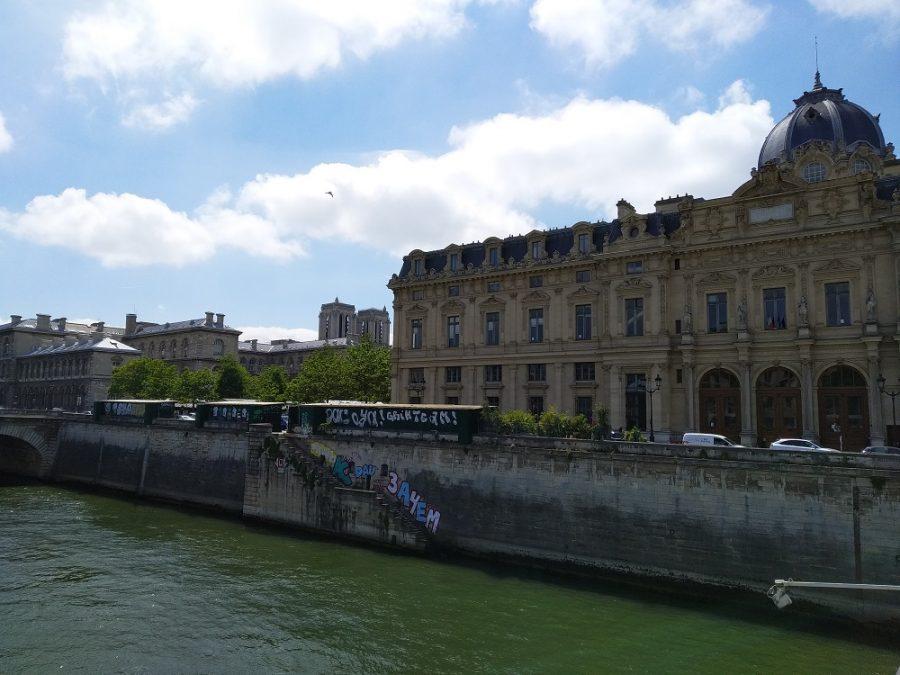 Париж граффити