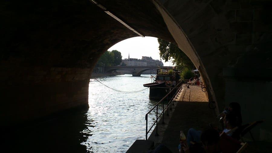 Париж, канал Сен-Мартен