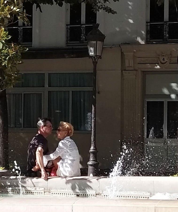 Париж, площадь Сорбонны.