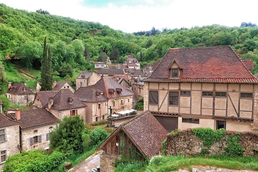 Самые любимые деревни Франции: Сен Сирк Лапопи (Saint-Cirq-Lapopie)