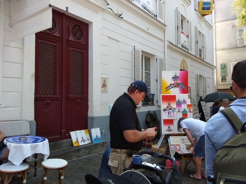 Париж: самое лучшее место для художника в мире.