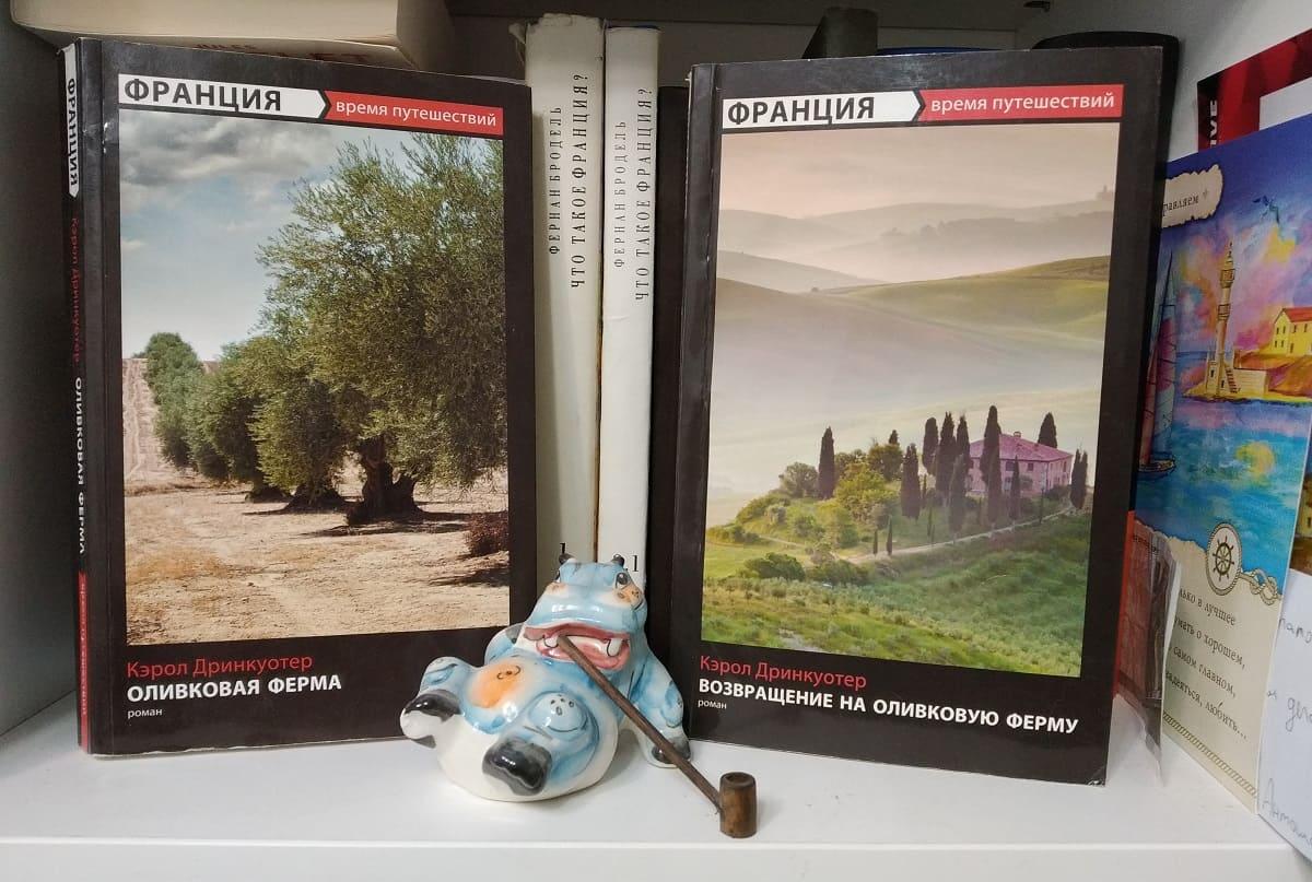 «Оливковая ферма» Кэрол Дринкуотер и ее Прованс, который не совсем Прованс.