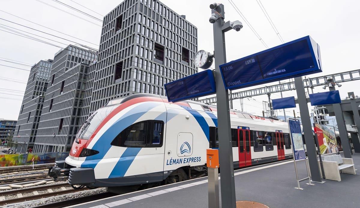 Leman express. Из Швейцарии во Францию — на метро.