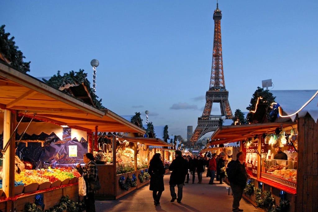 Рождественские ярмарки в Париже