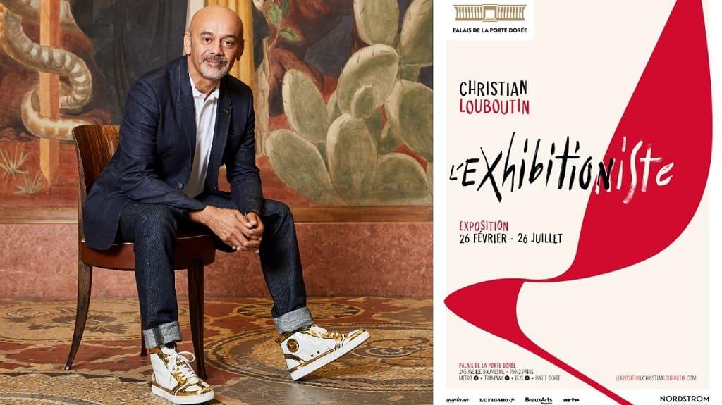 Выставка Кристиана Лубутена