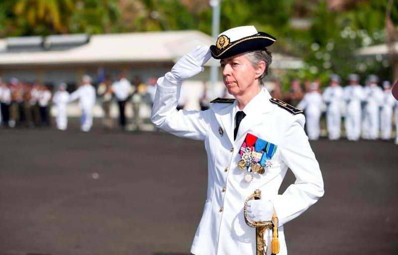 женщины в армии Франции